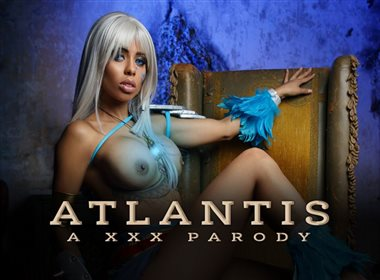 Atlantis A XXX Parody – Sexy Kida Virtual Reality Cosplay Porn