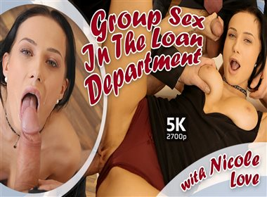 Group Sex In The Loan Department