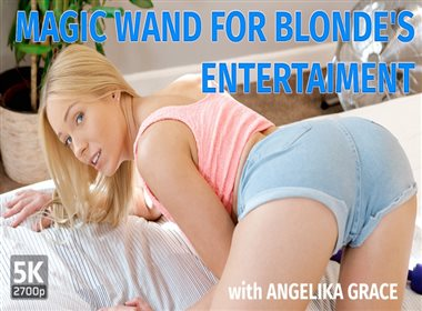 Magic Wand For Blonde's Entertaiment
