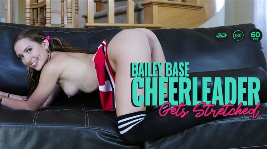 Cheerleader Gets Stretched – Bailey Base (Oculus/Go) 4K