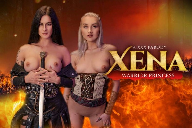 Billie Star and Marilyn Sugar: Xena Warrior Princess (Oculus 4k)