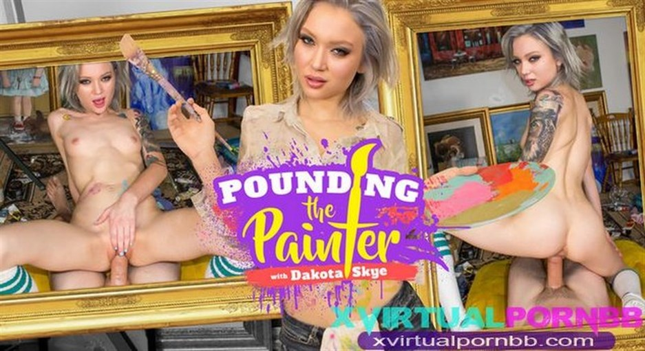 Pounding the Painter – Dakota Skye (Oculus)